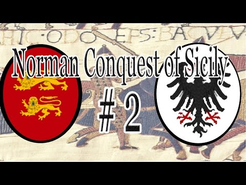 CK2 | The Norman Conquest of Sicily - Part 2