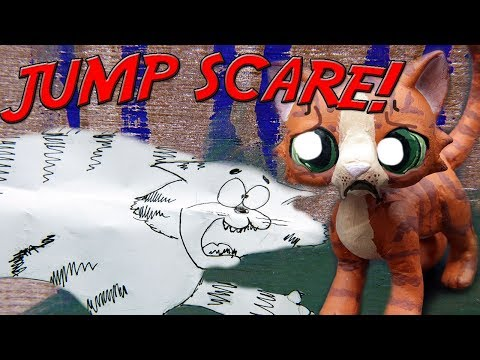 Fighting Cats Jump Scare! Warrior Cats: Into the Wild