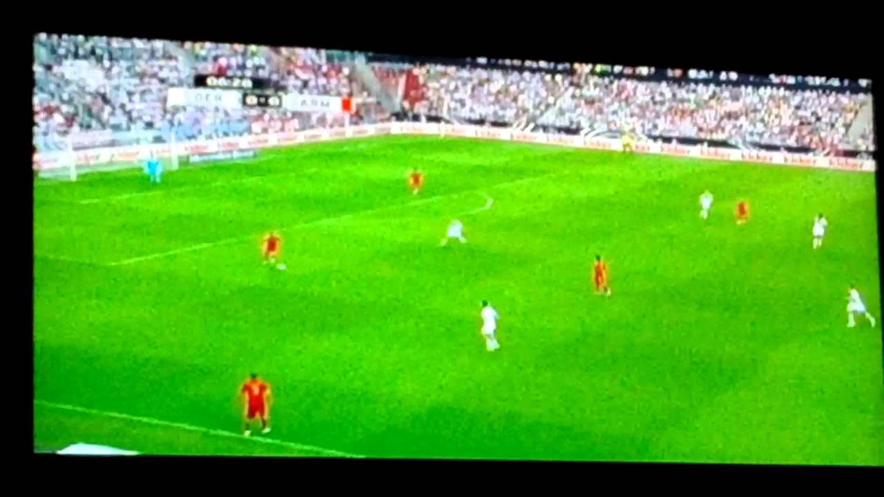 Fussball Länderspiel Deutschland