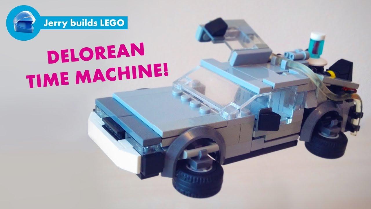 Lego Delorean Time Machine Instructions Moc 13 Youtube