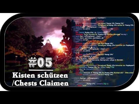 SKRIPT: Kiste schützen / Chest claimen #05 Tutorial