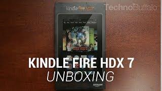 Kindle Fire HDX 7 Unboxing