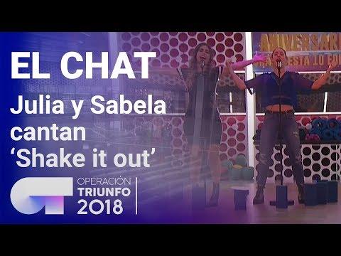 'Shake It Out' - Sabela Y Julia | El Chat | Programa 5 | OT 2018
