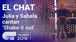 'Shake it out' - Sabela y Julia | El Chat | Programa 5 | OT 2018