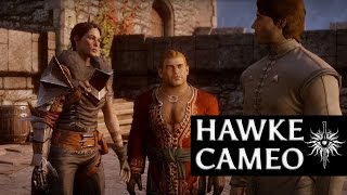 Dragon Age: Inquisition - Hawke Cameo (Fenris romance, diplomatic, female)