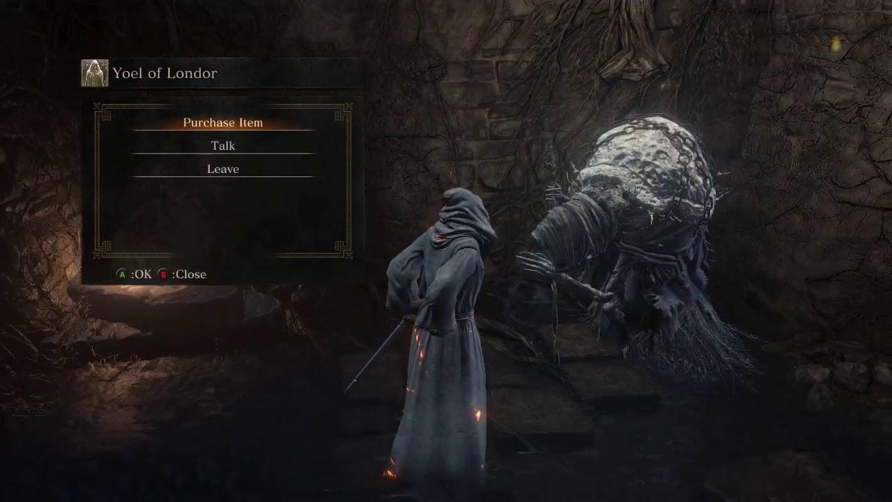 Dark Souls 3 The Moonlit Knight Walkthrough Episode 4 Yoel Of Londor Youtube Don't heal the dark sigil or the quest will fail. youtube