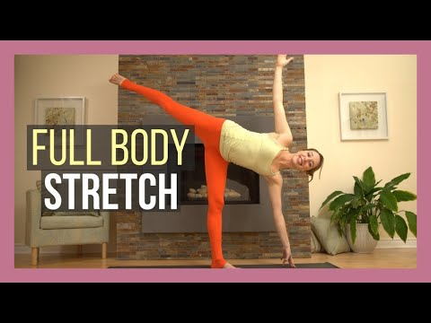 Yoga Full Body Stretch - Slow Flow Total Body Flexibility Class {30 min}