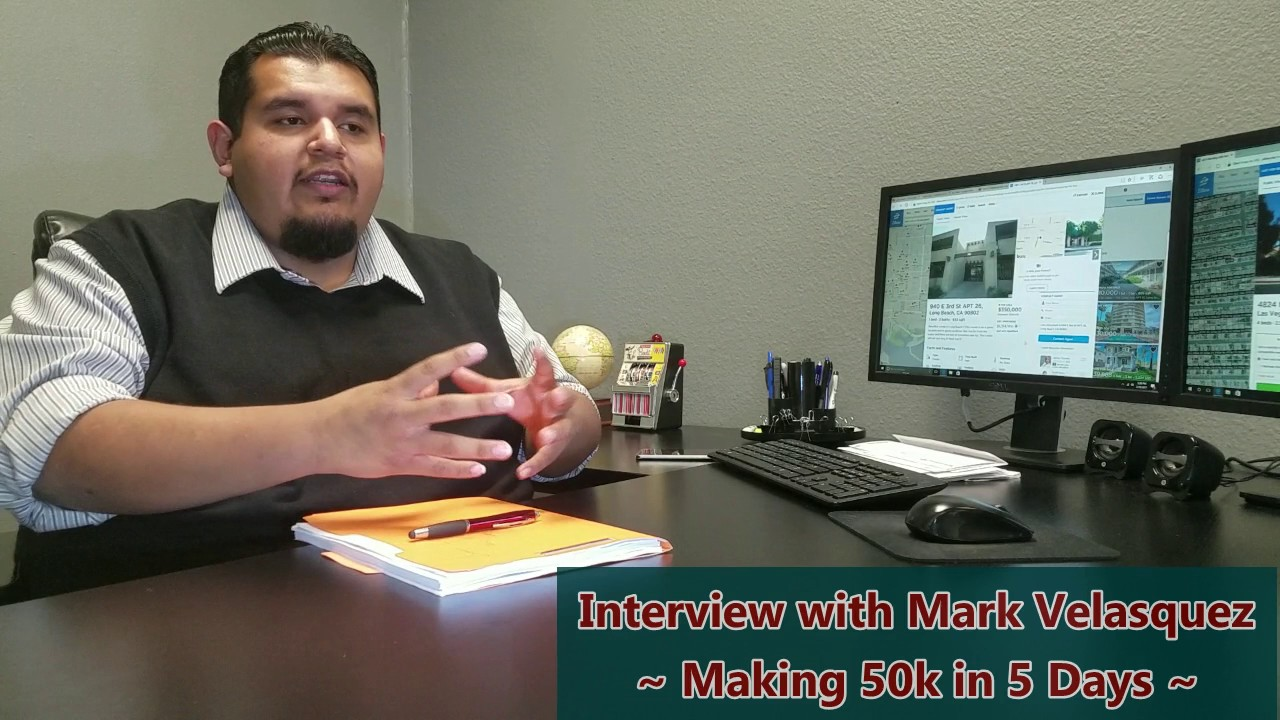 Making 50k in 5 Days - Marco Real Estate TV