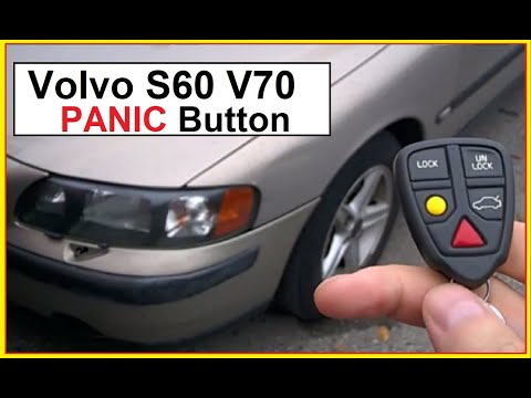 Volvo S60 V70 Key Fob Panic Button Check  2001-2009