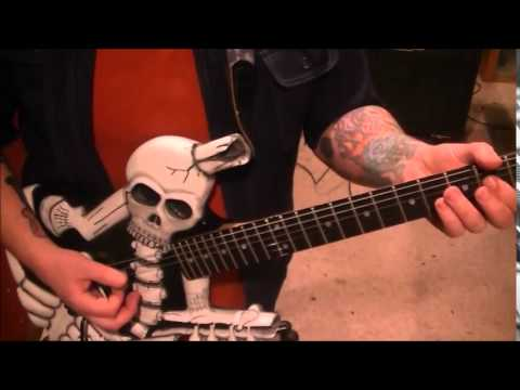 Motley Crue - Take Me To The Top - Guitar Lesson by Mike Gross
