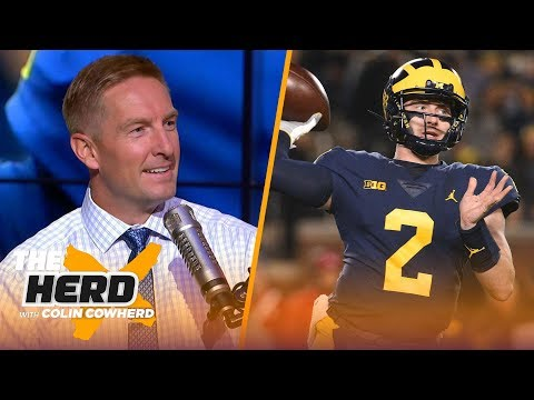 Joel Klatt on Michigan vs Michigan St., Nick Bosa leaving Ohio State and more | CFB | THE HERD