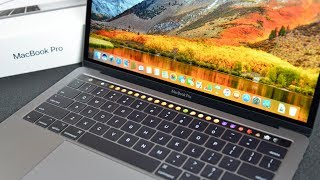 "Apple MacBook Pro 13"" Touch Bar (2017): Unboxing & Review"