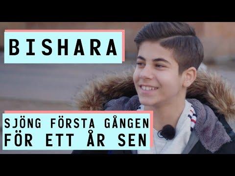 Frn skolmatsalen till Melodifestivalen   Bishara