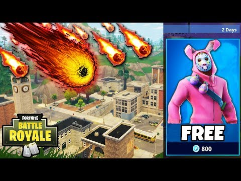 Tilted Towers DESTROYED by a METEOR?!?   20 Solo Fortnite Wins in 1 DAY! thumbnail