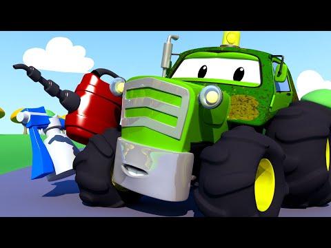 El lavado de Autos de Tom -Ben el Tractor 2 - Dibujos animados de carros
