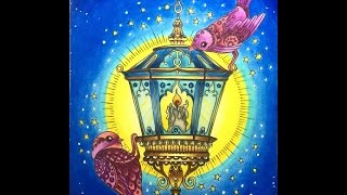 Hanna Karlzon - Winter Dreams - The Lantern with Polychromos