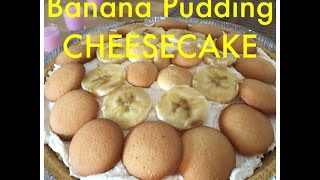 Easy Banana Pudding Cheesecake On Let's Get Greedy! Food Review #18