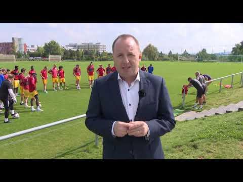 Magazín Náš fotbal na ČT s kapitánem a trenérem repre U18