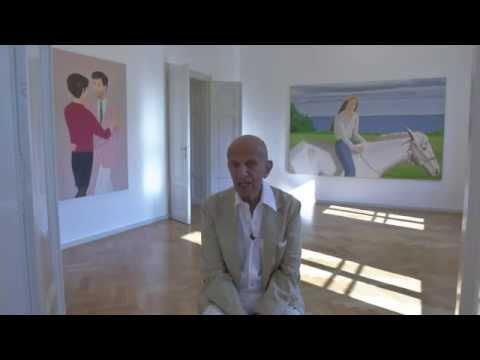 ALEX KATZ | INTERVIEW - 45 YEARS OF PORTRAITS  | GALERIE THADDAEUS ROPAC | SALZBURG | 2014