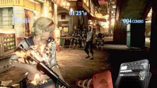 Resident Evil 6 Mercenaries Urban Chaos Sherry
