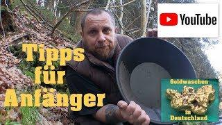 Goldwaschen in Deutschland ( 24 ) Tipps für Anfänger