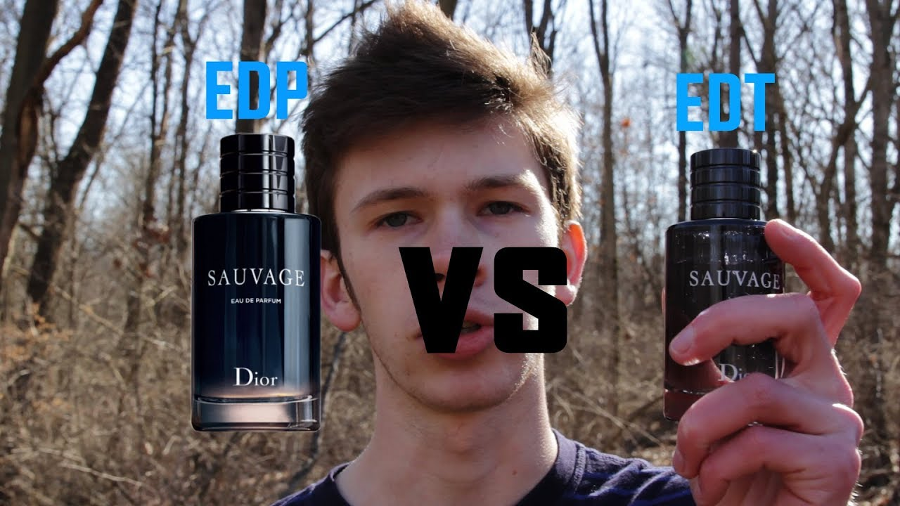 DIOR SAUVAGE EDP VS DIOR SAUVAGE EDT - Sauvage EDP First Impressions |  Better Than The EDT?