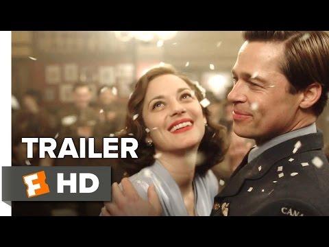 Allied Trailer - Allied Official Trailer Teaser (2016) Brad Pitt Movie Marion Cotillard Drama Movie