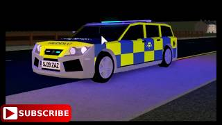 [Roblox Cardiff City] Uk Policing South wales Armed response