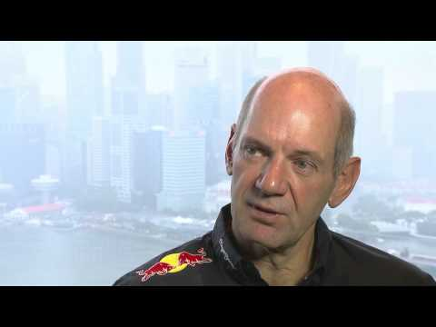 F1 2012 - Red Bull Racing - Interview with Adrian Newey before Suzuka