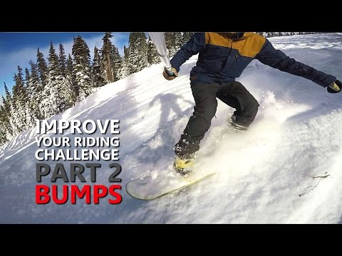 Improve Your Snowboarding Challenge | Part 2 - Bumps