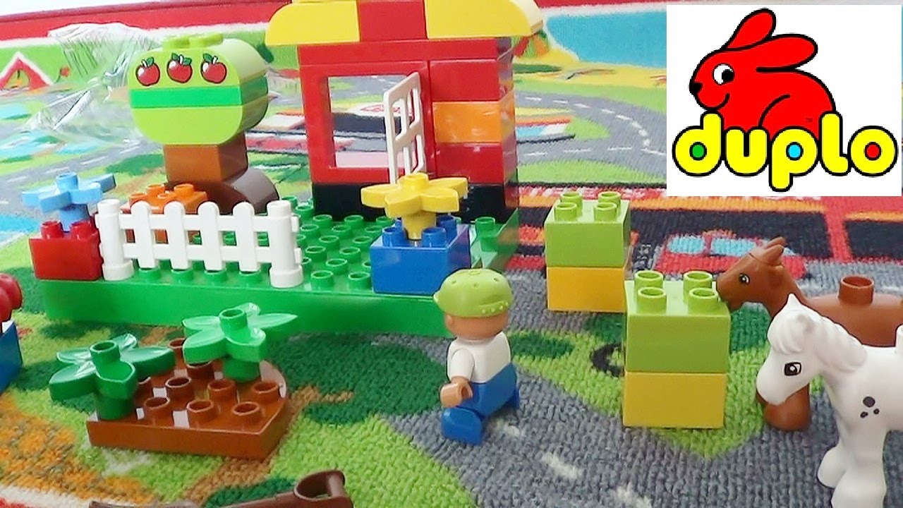 LEGO Duplo Brick Set My First Garden Playset