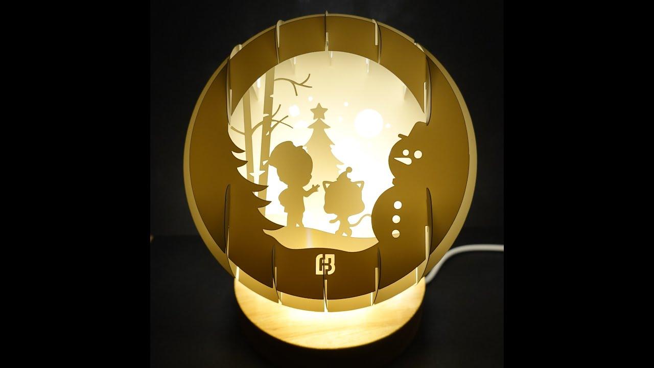 北富銀聖誕立體燈