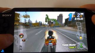 PS Vita ModNation Racers RoadTrip Gameplay