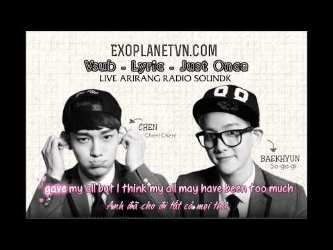 [Vietsub] BaekHyun & Chen - Just one LIVE 130620@Arirang Radio [EXOPLANETVN.COM]