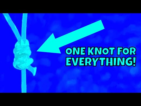 HOW TO TIE the ONLY Fishing Knot YOU'LL EVER NEED!