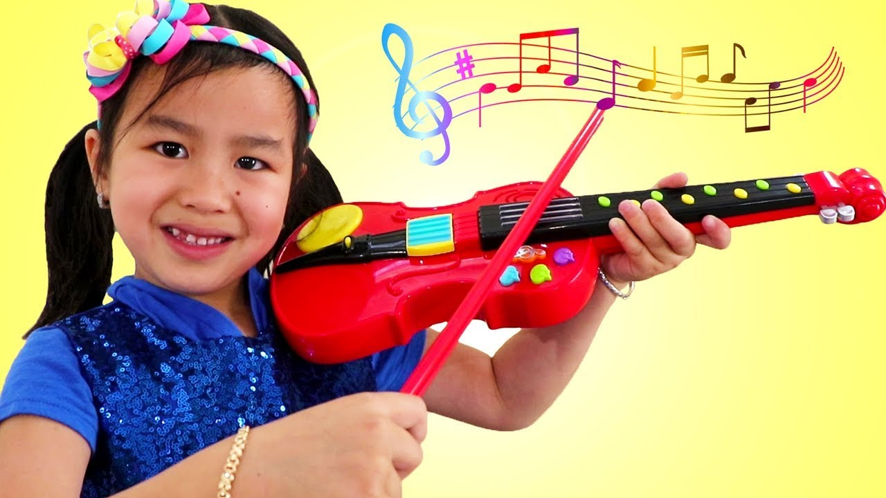 Download Jannie y Wendy Fingen a Tocar el Violín y Piano |Canciones Infantiles Para Niños