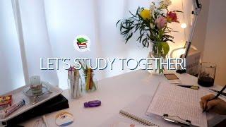 📚 No talking ASMR   같이 공부해요! Studying ASMR, writing , page turning, white noise, 공부ASMR, 백색소음, 노토킹