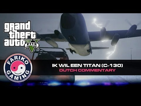[GTA V] Ik wil een Titan (C-130) ! Leger basis (GTA5) - Dutch Commentary