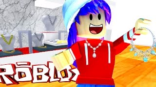 ROBLOX ROB THE JEWELRY STORE OBBY | I'M RICH! | RADIOJH GAMES