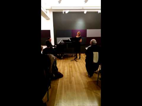 """Thomas Grubb """"French Song: Symbolist Poets"""" Master Class"""