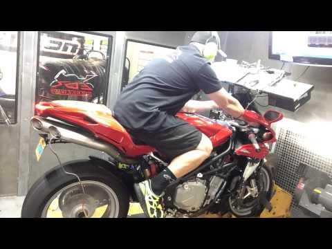 2013 MV AGUSTA F4 Bodis exhaust EDR Performance