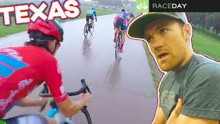 A Wet-n-Wild Crit Race in Texas (Raceday Cycling Vlog)