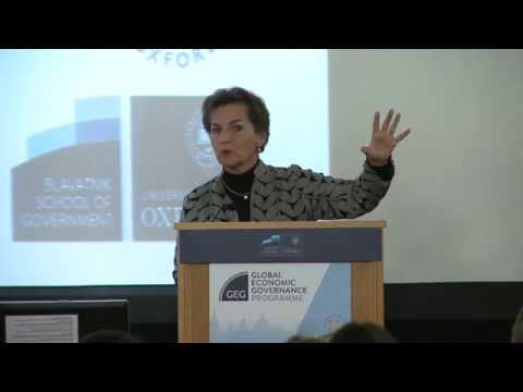 GEG Annual Lecture: The Imperative of a Global Climate Deal
