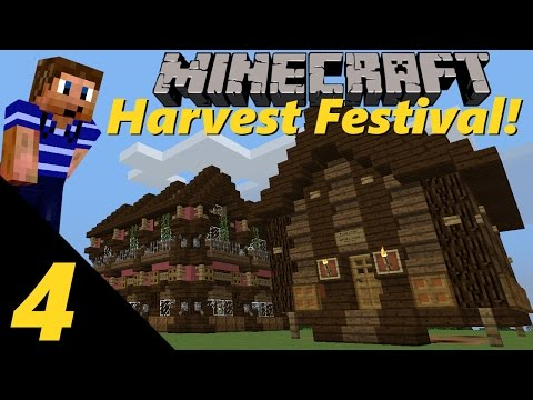 Harvest Festival! | Ep. 4 - The General Store! (Minecraft Ha