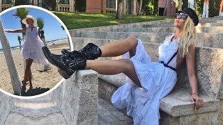 Как Оля Полякова отдыхала и ходила на концерт Anastacia в Испании.