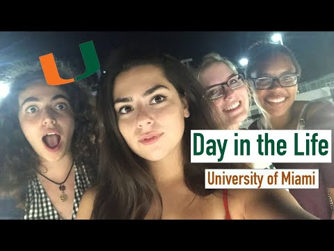 Day in the Life // University of Miami