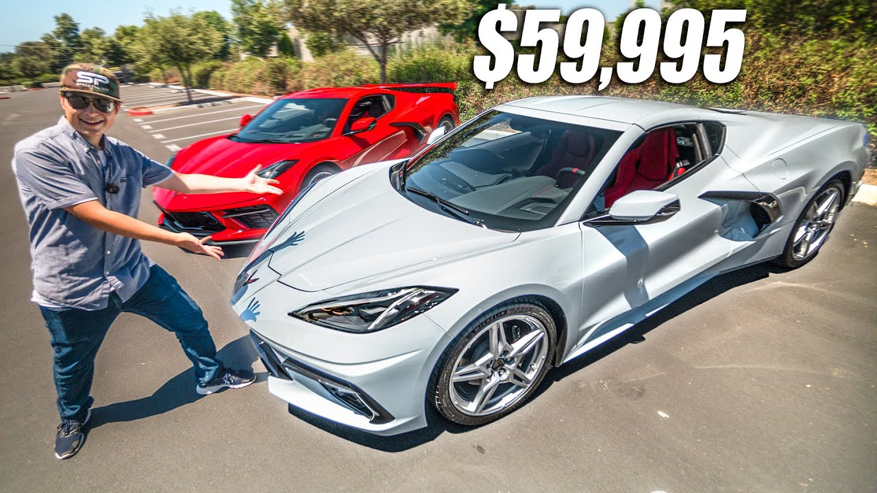 MEET THE $59,995 C8 CORVETTE! *FIRST EVER REVIEW AND DRIVE*