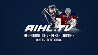 Perth Thunder @ Melbourne Ice  (28/4/18)