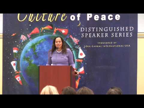 Anna Spain - Pursuing Peace: The Role of Individuals in Resolving international Conflict 3/6