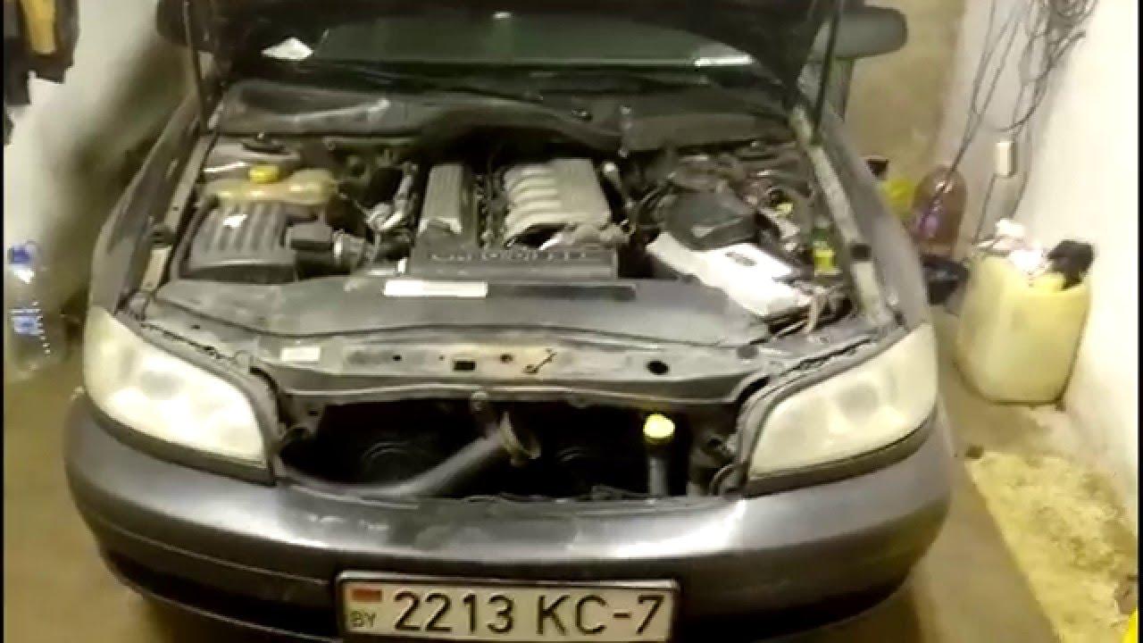 опель омега б, 1998г. 2.5dt (двигатель bmw),